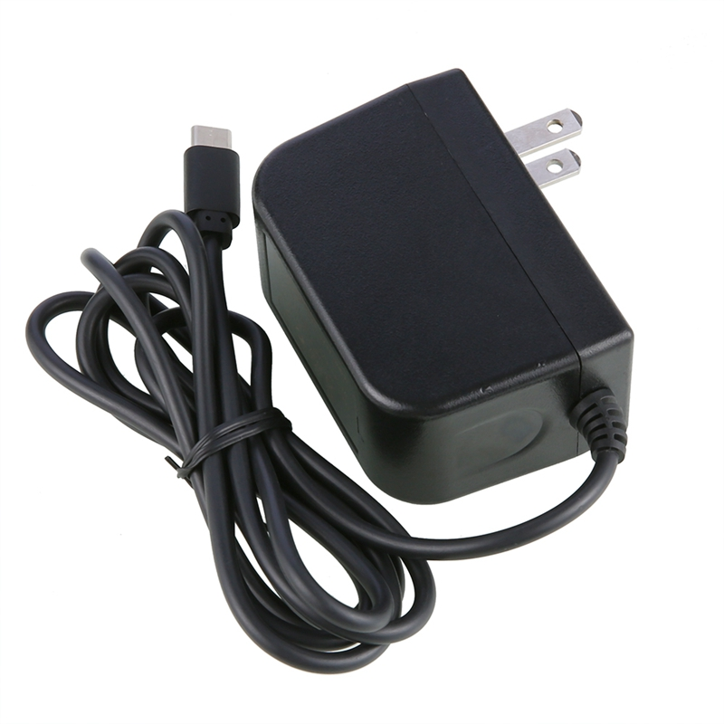 Fast Charge 15W AC Adapter For  Switch Game Console Power Charger Type-C Interface Switch Power Supply(US Plug)