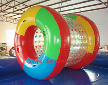 Inflatable Water Sports Game Wholesale Cheap chinese infaltable water roller from direct supplier,inflatable roller ball