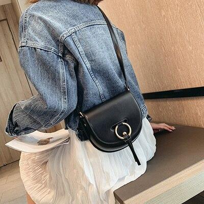 Semicircle Crossbody Bags...