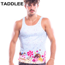 Taddlee Brand New Mens Top Tees Shirt Gym Muscle Tank Fitness Workout Gasp Sports Running T shirts Sleeveless Stringers Singlets