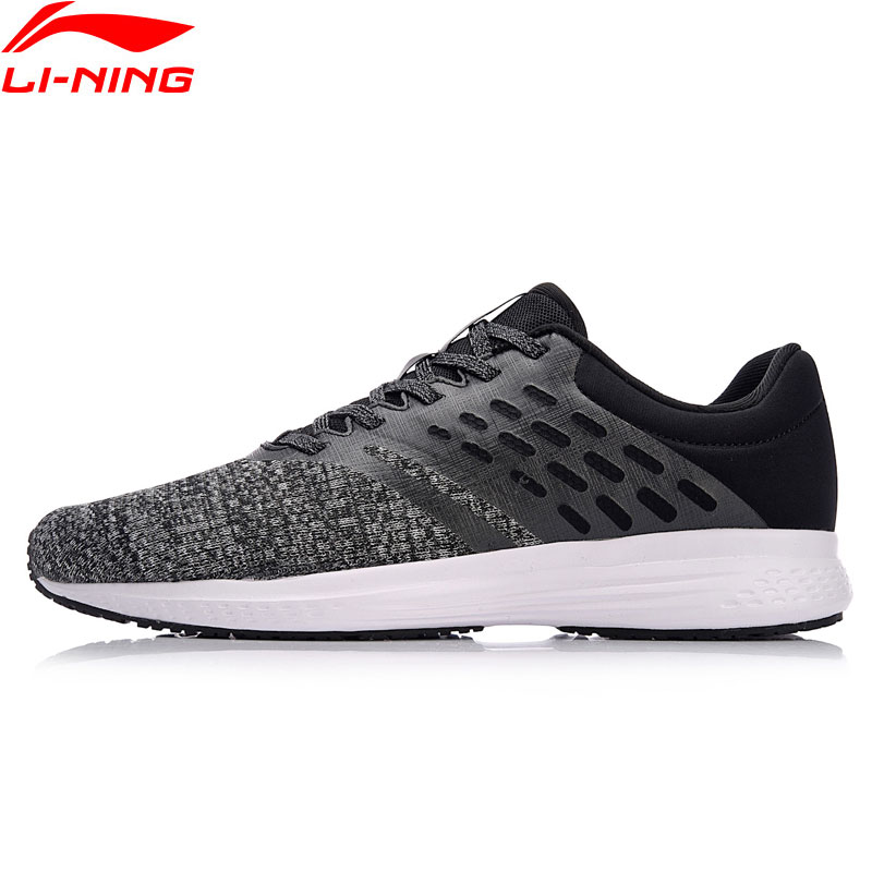 Li Ning Men SPEED STAR Cushion Running Shoes Mono Yarn Comfort LiNing Sport Shoes Wearable Breathable