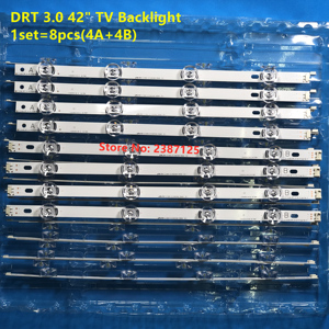 Image 1 - 8 CHIẾC dây ĐÈN LED Dành Cho LG 42 TIVI 42LF5600 42LB5800 ZM 42LB572V 42LB570V 42LB570U 42LB5700 42LF5800 42LB6500 UM 42LF560V 42LX530S