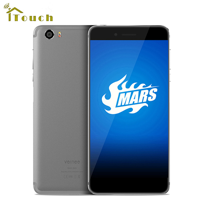 "Original Vernee Mars 4G LTE Mobile Phone 5.5""FHD Android 6.0 MT6755 Octa Core 1920*1080 4G RAM 32G ROM 13.0MP Fingerprint ID"