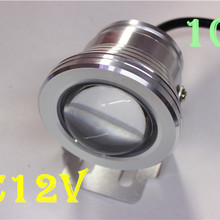 10W 12V Underwater  Led Light 1000LM Waterproof IP67 Fountain Swimming