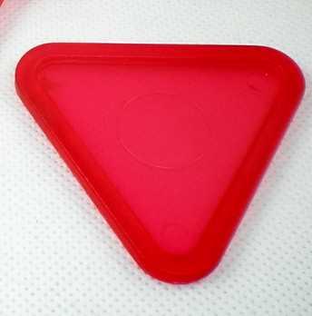 """جديد 1 قطعة الأحمر مثلث طاولة لهوكي هوائي انتهازي عفريت 63 مللي متر 2-1/2 """"غليس 70"""