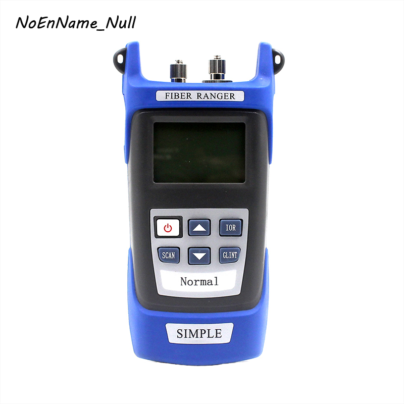 NoEnName_Null De Poche OTDR 60 KM fibre trouver faute testeur 1310/1550nm fibre point d'arrêt détecteur de défaut avec VFL SC/FC connecteur
