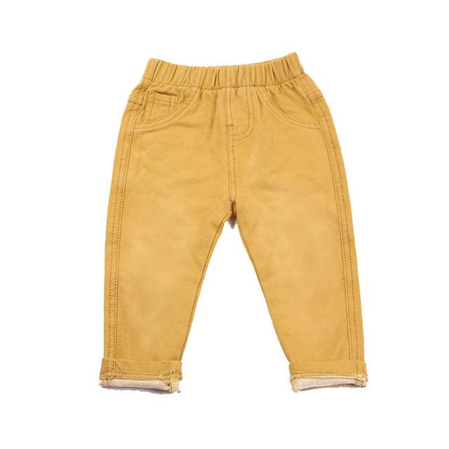 Casual Elastic Waist Boy's Jeans