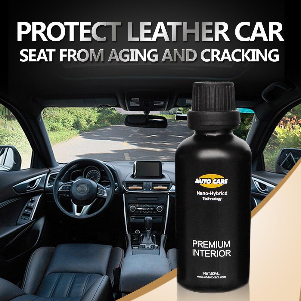 Anti-Fouling 9 H Auto Sitz Abdeckung Pflege Wasser Repell Innen Pflege Auto Interieur Leder/Vinyl Beschichtung Polster keramik Mantel