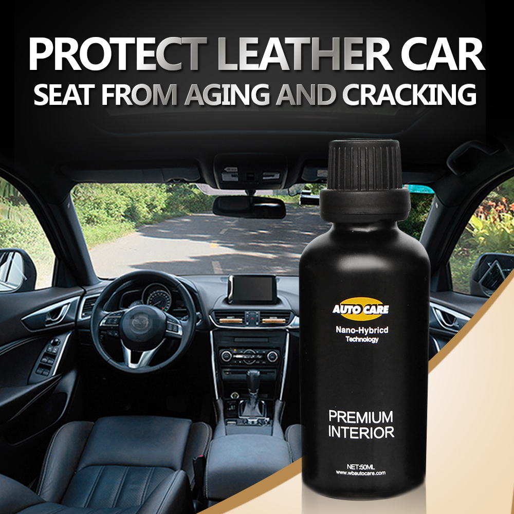 Anti-Fouling 9H Car Seat Cover Care Water Repell Interior Care Auto Interior Leather/Vinyl Coating Upholstery Ceramic Coat