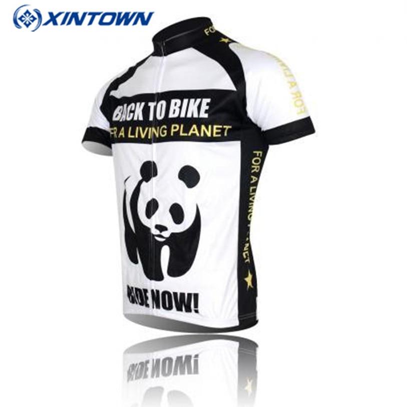 Xintown Ciclismo Jersey hombres Team pro bike jersey blanco pandon Bicicletas  ropa Top ropa ciclismo Bicicletas Camisas afcbc70fee63c