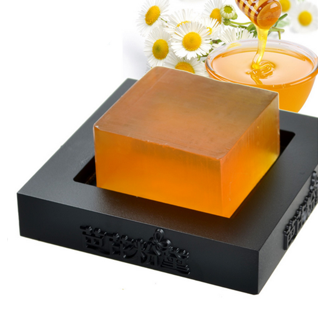 High Quality 100% HandMade Whitening Peeling Glutathione Arbutin Honey Kojic Acid Soap 100g