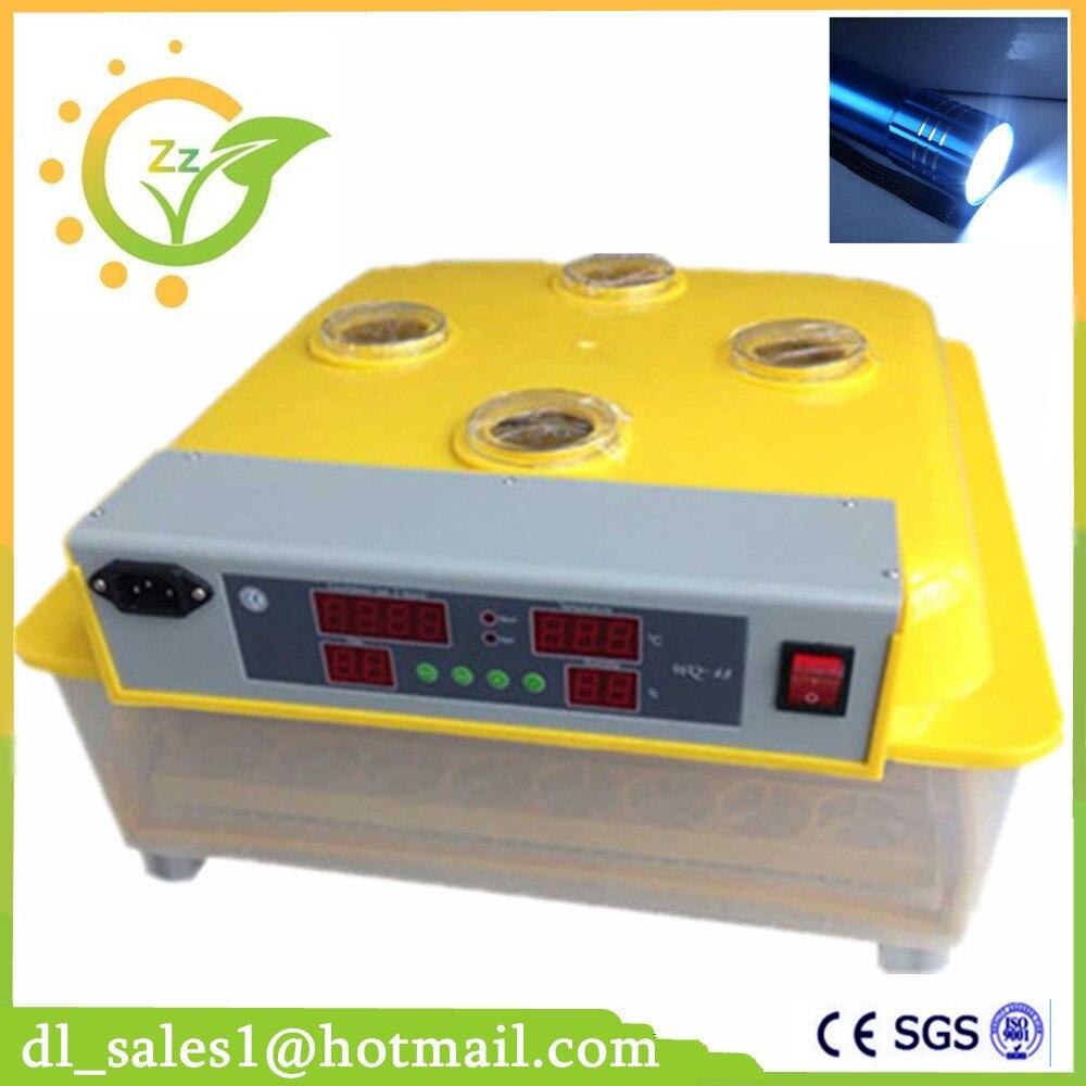 Mini Egg-Turning Automatic Digital 48 Eggs Incubator For Hatching Chicken Incubator Machine bering ceramic 30121 754