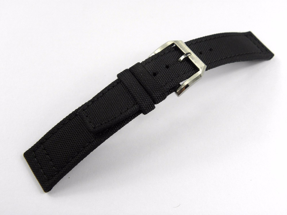 20 21 22mm Wholesale New Man Lady Strap for Clock Green and Black Nylon Band Pin Buckle Clasp Wrist Watch Band Belt nylon watch band 22mm for jacques lemans stainless steel pin clasp strap wrist loop belt bracelet black brown grey red purple