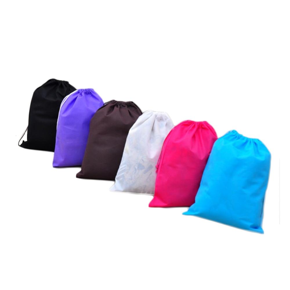 Travel Storage Bag Shoe Pocket Storage Organize Bag Non woven Fabric Draw Pocket Drawstring Bags Toiletry