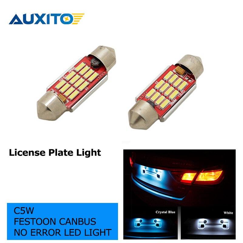 2шт LED 36мм белый синий canbus автомобиля с c5w лампы 4014 СМД салона свет номерного знака свет для BMW Е30 Е36 Е46 Е90 Е39 Е60 Е53 Е70