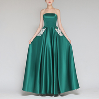 Womens Dress Ladies Prom Solid A line Elegant Bridesmaid Plus size Ball gown Party Pleated Maxi Wedding Embroidery