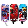 Anime Miraculous Ladybug Cosmetic Cases Pencil Holder Case Girls Cosmetic Bag kids Cartoon School Cases