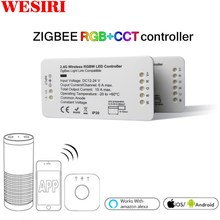 LED Controller RGB + CCT RGBW WWCW LED Strip Controller DC12/24 V Lineaire Licht Dimmer APP LED Controller