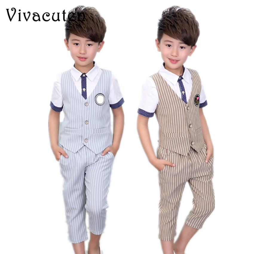 dc39f4229ecf Detail Feedback Questions about Baby Boys Formal Suit Birthday Party ...