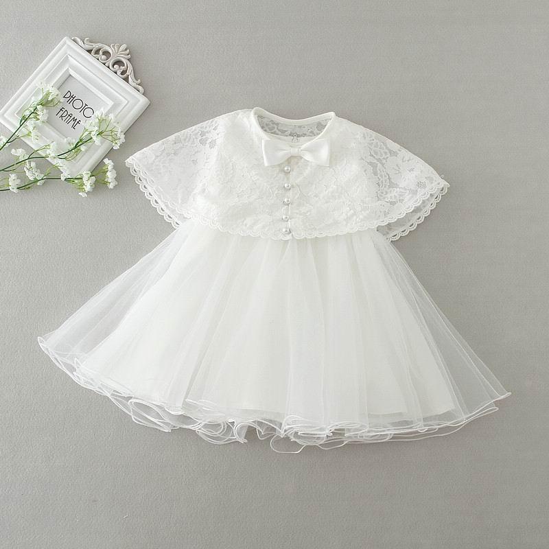 2016 New Newborn Baby Christening Gown 2pcs Sets Infant Girls ...