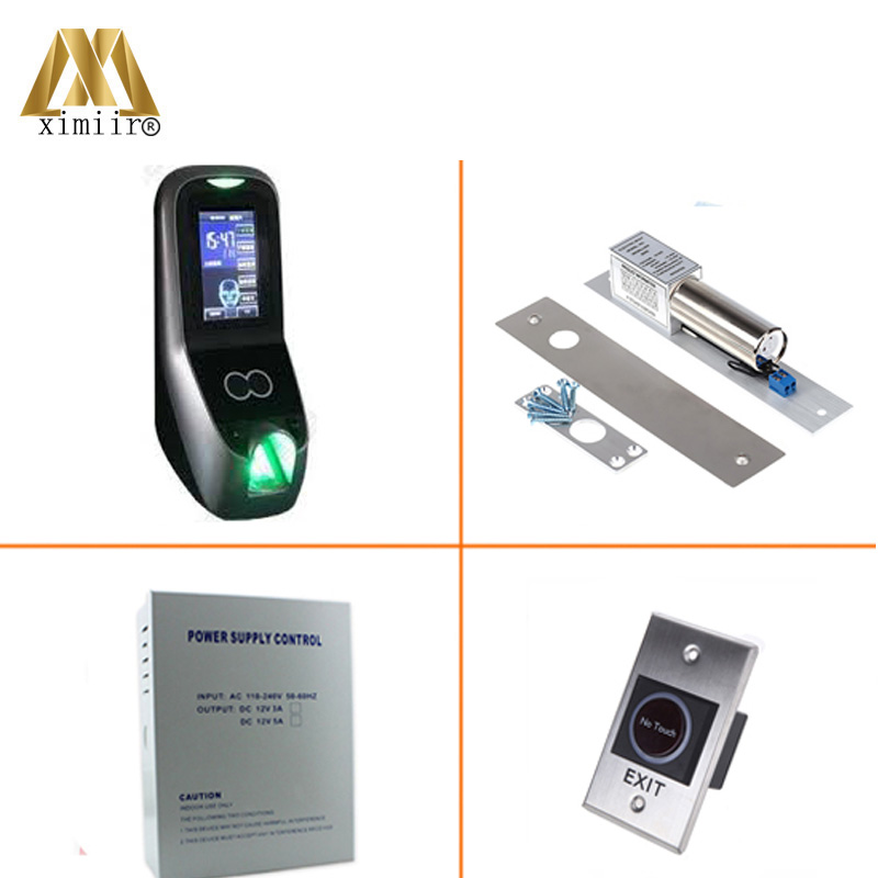 Hot Sale 1500 Face User Multibio700 Kit Standalone Access Control System TCP/IP Biometric Face Access Control Kit