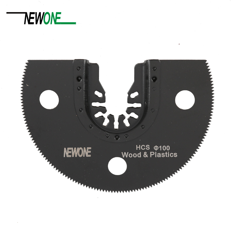 100mm Half Circle HCS Quick Release Oscillating Saw Blade Fit For Most Brands Of Multifunction Electric Power Tool As Fein,TCH
