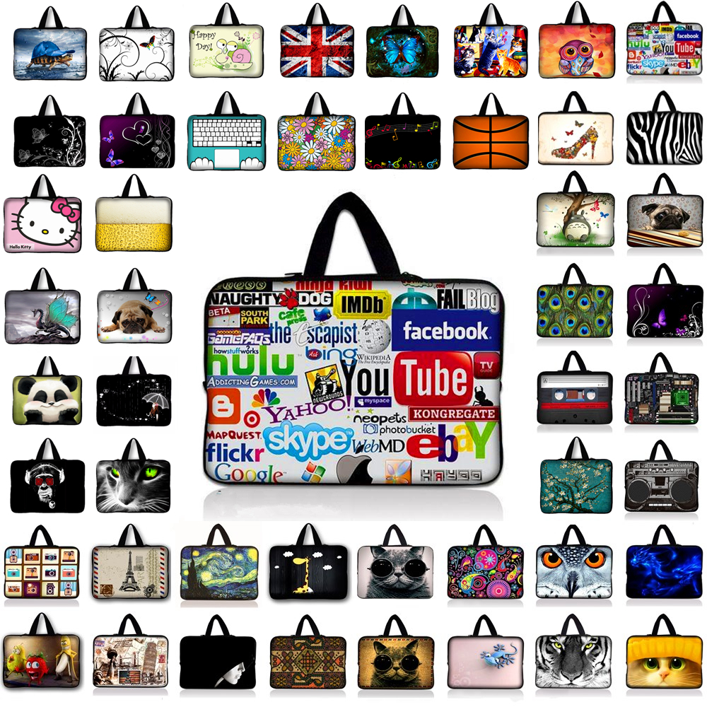 7 10 12 13 15 17.3 inch Laptop Bag Waterproof Shockproof Sleeve Pouch Bag Tablet Case Cover For Dell HP ASUS 13.3 14.4 15.6 #8