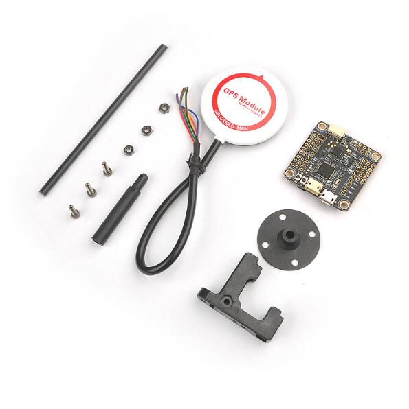 INAV F3 compas de commande de vol de luxe Baro OSD M8N ensemble GPS baromètre intégré compas électronique ensemble haut Point fixe pour FPV