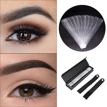 12Pcs/set Eyebrow Shaping Stencils, Eyebrow Grooming Stencil Kit, Shaping Templates DIY Tools 12 Styles