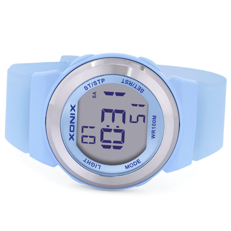 Nauwkeurige Jelly Horloge Mode Minimalistische Matte Meisjes Zwemmen - Dameshorloges - Foto 3
