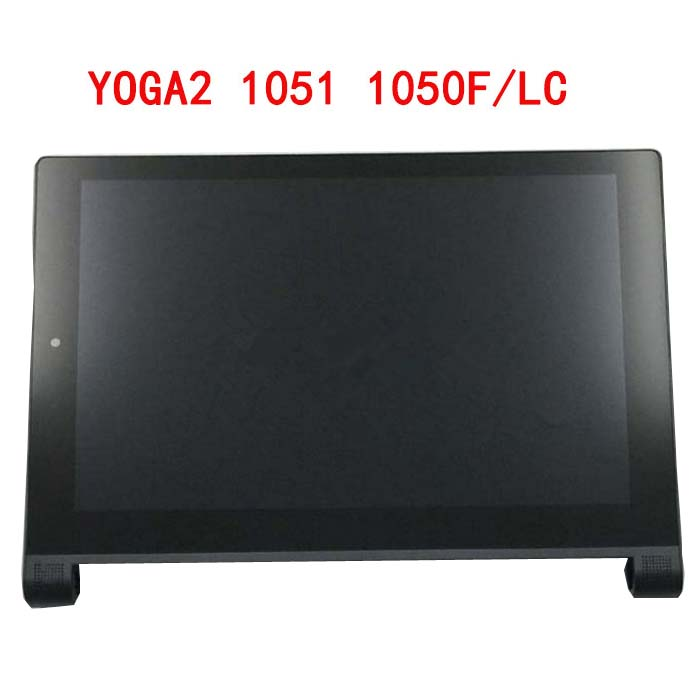 цена на 10.1 inch for Lenovo Yoga Tablet 2 1051 1051F 1051L LCD display Screen with Touch Screen digitizer assembly full sets Yoga2-1051