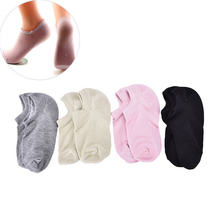 Hot 1 Pair Soft Spa Socks for Pedicure Moisturizing Massager