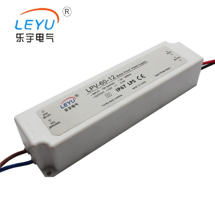 LPV-60-48 48v 60w universal led waterproof driver full range power supply