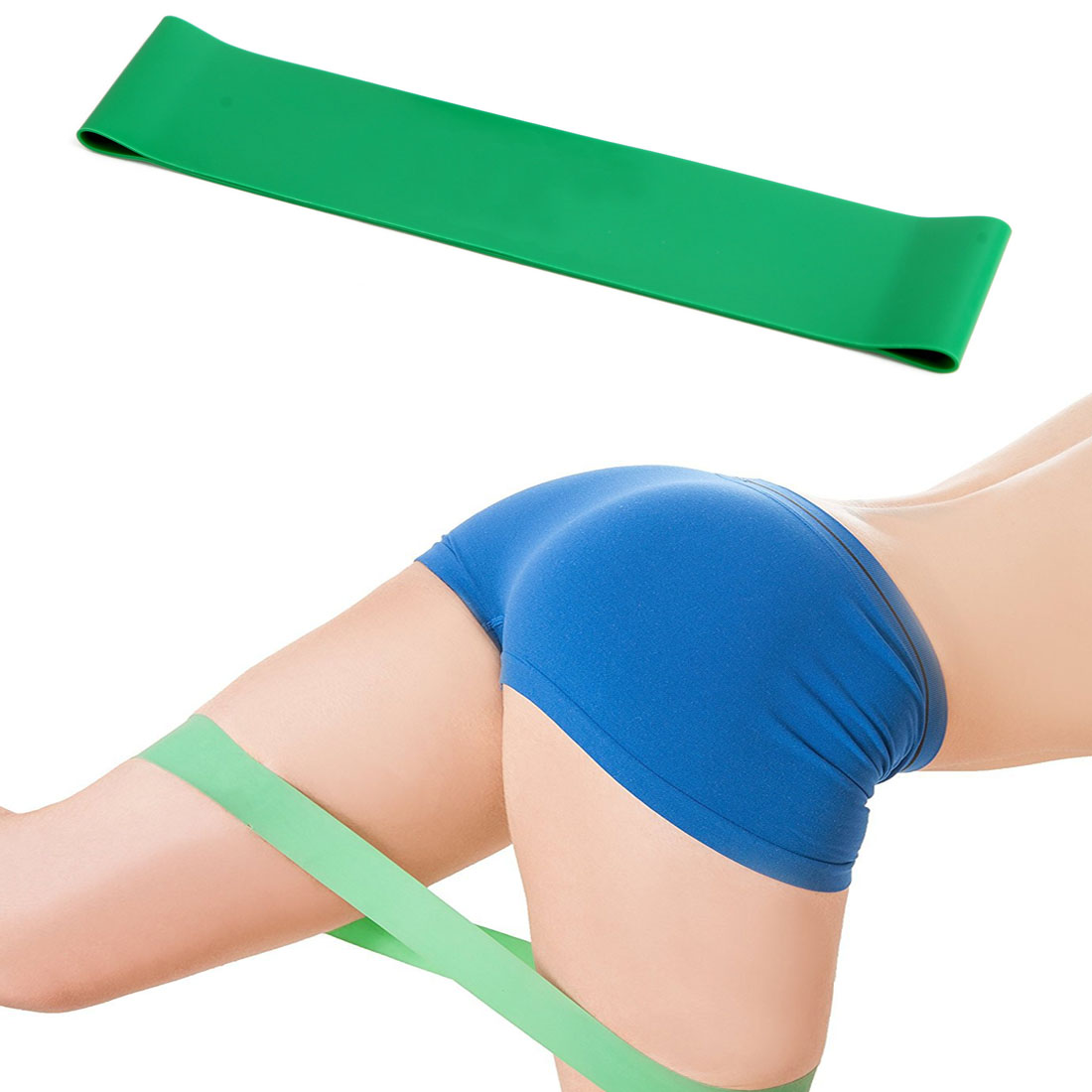 Weerstand Yoga Band Elastische spieren Fitness Training Pilates Bands - Fitness en bodybuilding