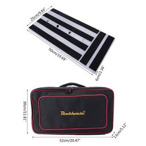 Image 5 - Guitar Pedal Board Mastery Effect Pedalboard RockBoard Hide Power Guitar Effects Pedal Boards Storage Bags Accessories Dropship