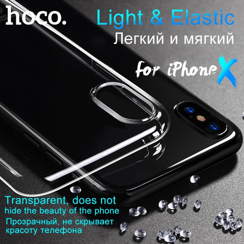 coque iphone x slim transparent