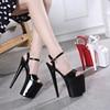 High Heel 20cm Platform 2018 Sandals Girls Posed Steel Pipe Shoes 2