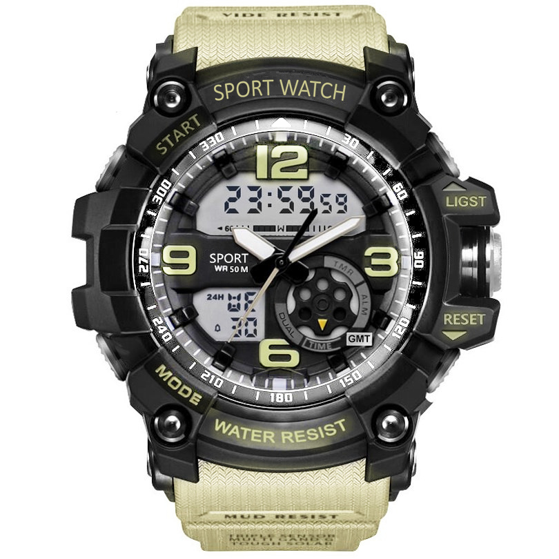 SMAEL-Men-Military-Watch-50m-Waterproof-Wristwatch-LED-Quartz-Clock-Male-relogios-masculino-1617-Digital-Sports