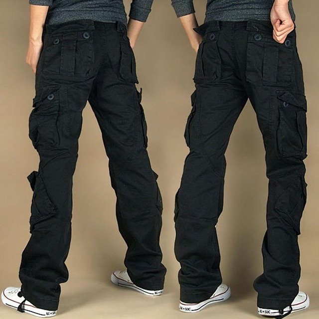 Free Shipping 2021 New Arrival Fashion Hip Hop Loose Pants Jeans Baggy Cargo Pants For Women 2