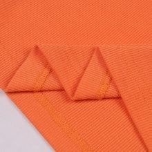 FREE SHIPPING !! Summer Solid Orange Bodycon Dress JKP963