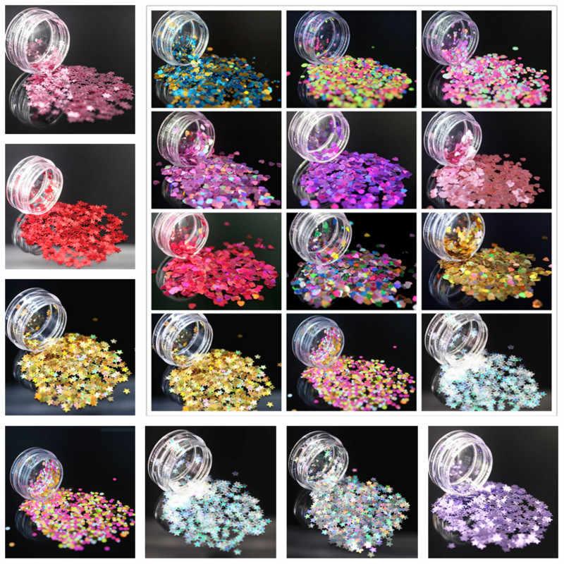 (1 sztuk/sprzedam) Super Sparkle ultracienkich cekiny kolorowy lakier do paznokci Art Glitter porady żel UV 3D paznokci dekoracja do manicure DIY akcesoria
