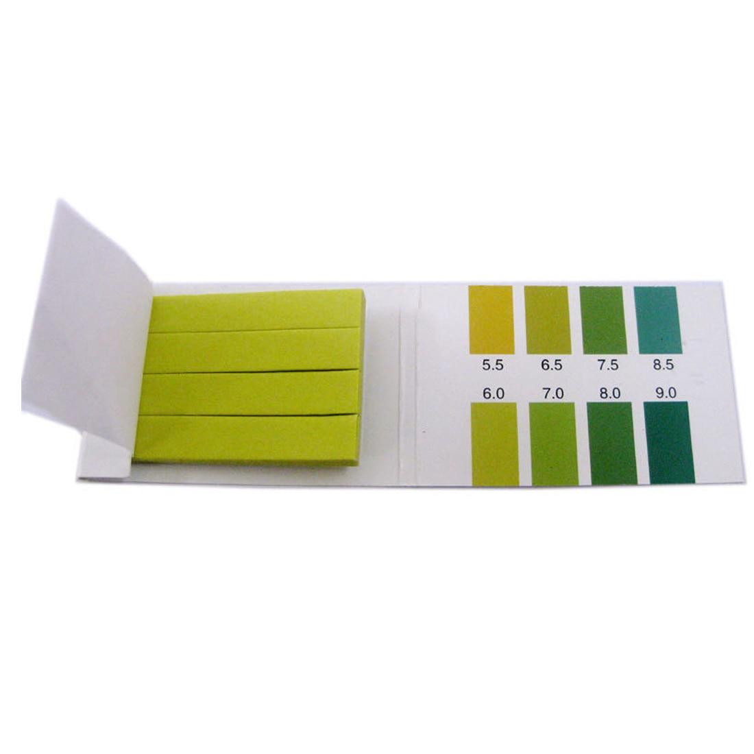 Portable 80 Strips PH Range 5.5-9.0 PH Meter Paper PH Alkaline Test Indicator Papers Water Litmus Testing Kit Lab Supplies