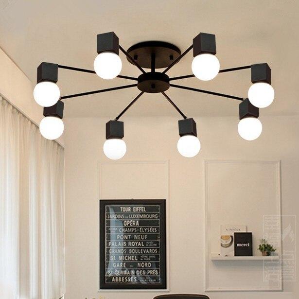 Aliexpress.com : Buy Modern minimalist metal ceiling lamp live room ...