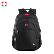 """Swisswin pegasus qualité sac d'ordinateur portable sw8112 je femmes hommes double-épaule voyage sac à dos militaire 17 """"ordinateur portable sacs marque vente"""