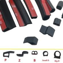 כללי ד ד קטן גדול רצועת חותם דלת המכונית Z P בידוד קול עמיד למים סוג אטום לרעש Weatherstrip חותם גומי EPDM רצועות