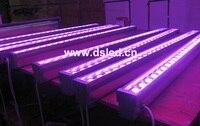 IP65  CE  de boa qualidade  de alta potência 36 w RGB CONDUZIU a luz de lavagem  RGB LED da arruela da parede Linear  12*3 w RGB 3in1  24VDC  DS-T21A-36W-RGB  50 cm/pc