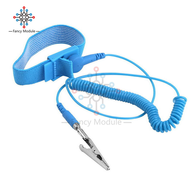 Back To Search Resultstools Cordless Wireless Clip Antistatic Anti Static Esd Wristband Wrist Strap Discharge Cables For Electrician Ic Plcc Worke Hand & Power Tool Accessories