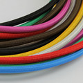 color weaving cord of 2* 0.75mm copper  for  lamp, home, bar decorate electrical wire Copper stranded wire