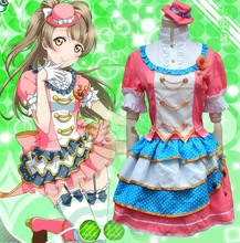 Free Shipping Anime Love Live Girls Cosplay Clothes Lovelive Sailor Moon Costume School Lolita Dress Halloween