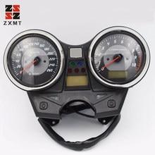 ZXMT Motorcycle Universal LED Odometer Speedometer Meter Tachometer Gauge Brand New Arrival Free For Honda CB 1300 2009-2012 10